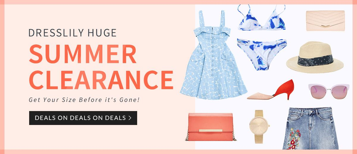 Huge Summer Clearance